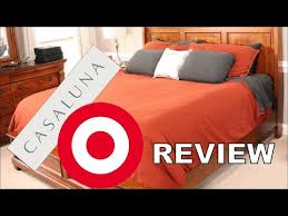 casaluna bedding set from target review