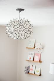 How Perfect Is This Light Fixture For A Baby Girl Nursery Girls Nursery Lighting Girls Room Chandelier Kids Lighting Bedroom
