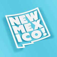 State Nm 2 Sticker Set 4 X 4 5 New Mexico Weatherproof Window Vinyl Sticker Decals For Car Or Laptop Spacedust