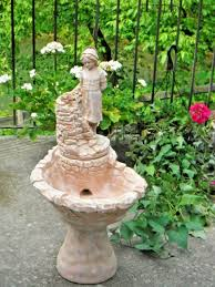 indoor outdoor garden water fountain