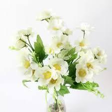 bunga aster tiruan cantik untuk buket bunga wedding dekorasi rumah