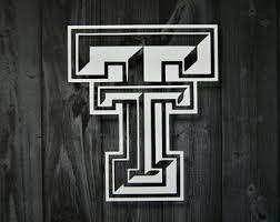 Texas Tech Decal Etsy