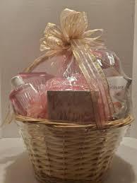 pretty n pink spa basket in charlotte