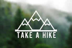 Decal Take A Hike Vinyl Decal Car Window Decal Laptop Decal Laptop Sticker Water Bottle Decal Phone Dec Water Bottle Decal Car Decals Vinyl Laptop Decal