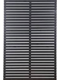 Black Slat Panel 180 X 120 X 45mm Slats Screen With Envy