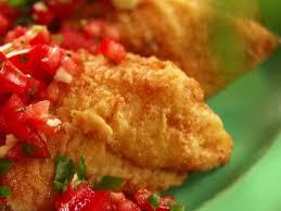 Fried Catfish with Tomato Relish ...