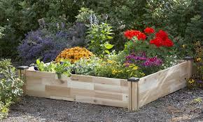 cedarcraft cedar garden bed