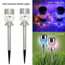 solar led garden lights outdoor