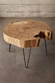 end grain red oak coffee table in 2020