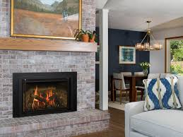 rustic gas fireplace inserts kozy