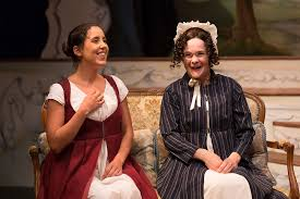 """Minora (left) appears as Jane Fairfax in """"Emma."""" 