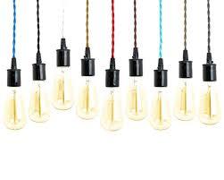 cord set with bulb socket 8 foot many