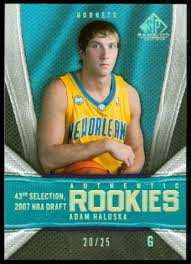 2007-08 SP Game Used Gold #178 Adam Haluska - #d/25 - NM-MT