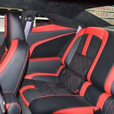 chevrolet camaro with new interior red