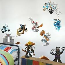 Lego Ninjago Wall Stickers Lego Wall Lego Room Decor Lego Ninjago