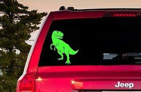 T Rex Sticker T Rex Car Decal T Rex Window Sticker T Rex Etsy In 2020 Computer Sticker Window Stickers Car Decals