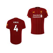 Liverpool Virgil van Dijk 19-20 Home Jersey