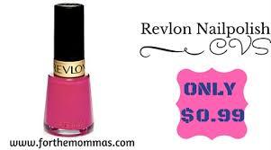 cvs revlon nail polish only 0 99 ftm