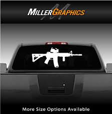 Ar15 Ar 15 Rifle Gun Window Decal Graphic Sticker Car Truck Suv Choose Size 19 95 Picclick