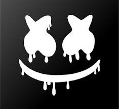 Dripping Marshmello Edm House Music Dj Vinyl Decal Laptop Car Window Sticker Ebay