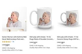 Paul Fairie On Twitter Are You Looking For A Large Wall Decal Or Perhaps A Ceramic Mug With An Image Of A Woman Using An Inhaler I Have Good News Https T Co D4xht03u1k