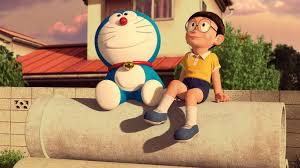 doraemon and nobita cave