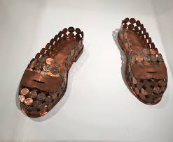 "These ""penny loafers"" by Sonya Clark : ATBGE"