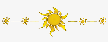 Sun Divider - Sun Divider Clipart Transparent PNG - 800x250 - Free ...