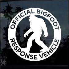 Response Vehicle Decal Bigfoot Stickers Custom Sticker Shop