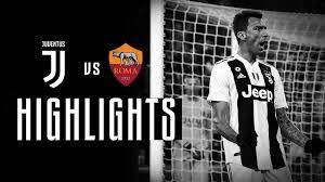 HIGHLIGHTS: Juventus vs Roma - 1-0 | Mandzukic makes it a Merry ...