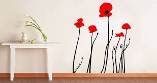 Wall Decals Poppies Dezign With A Z