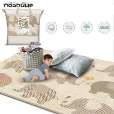 Moshube New Baby Play Mat Thick Waterproof Game Pad Infant Room Children S Rug Anti Slip Developing Mat Gym Carpet For Kids Toys Superkidscity