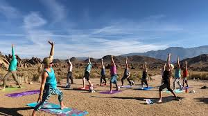 yoga retreat in alabama hills