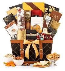 golden gourmet chocolate sweets gift