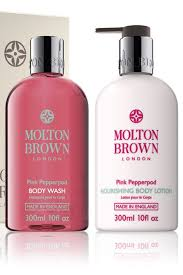 molton brown body wash and body lotion