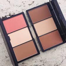 face form light contouring sleek makeup