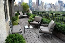 New York Iron Fence Designs Traditional Balcony With Range Hood And Tile Kitchen Backsplash