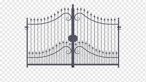 Gate Wrought Iron Garden Inferriata Gate Angle Fence Home Fencing Png Pngwing