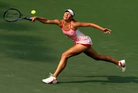 wallpaper tennis ball racquet maria