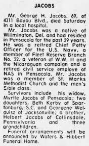 George Jacobs - Newspapers.com