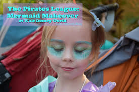 the pirates league mermaid makeover at