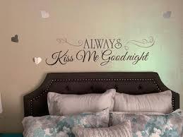 Always Kiss Me Goodnight Peel Stick Wall Decals Walmart Com Walmart Com