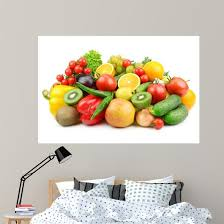 Fruits And Vegetables Wall Decal Wallmonkeys Com