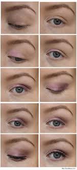 easy eyeshadow tutorial purple and