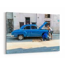 Shop Havana Cuba Car Cars Classic Car Canvas Wall Art Print Overstock 31239577