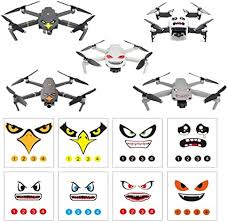 Amazon Com Rcgeek Stickers Set 3m Drone Decals Facial Expression Skins Compatible Dji Mavic Mini Mavic Air 2 Mavic 2 Pro Zoom Mavic Pro Platinum Pro Mavic Air Avoiding Birds Clashing 8 Styles Toys