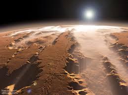 Valles Marineris en Marte, un impresionante sistema de cañones | Planetas,  Vida en marte, Sonda espacial
