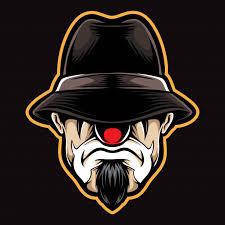 cholo clown vector premium vector
