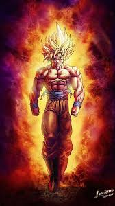 best goku super saiyan wallpaper iphone