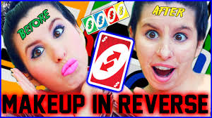 makeup tutorial in reverse how to